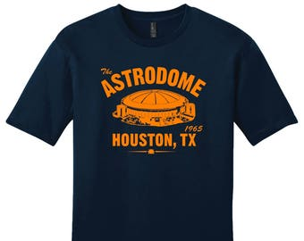 The Astrodome 1963 Baseball Tee Shirt - Past Home of Your Houston Astros