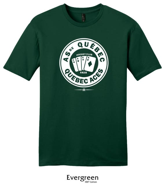 0b940fb57 Quebec Aces 1928 Hockey Tee Shirt