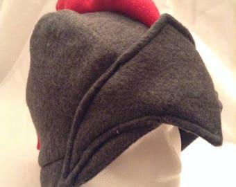 Small Winter Warrior Fleece Hat, Winter Cap