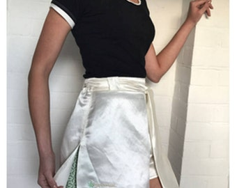 Hemp silk shorts
