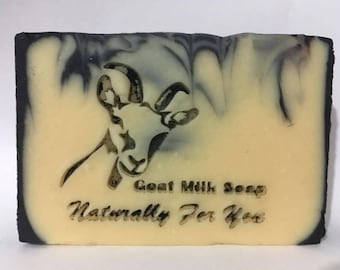 Active Charcoal Natural Goat Milk Soap