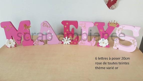 lettre pr nom bois lettre en bois pr nom poser lettre. Black Bedroom Furniture Sets. Home Design Ideas