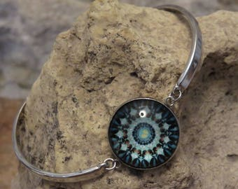 "Fine silver bracelet ""collection winter"""