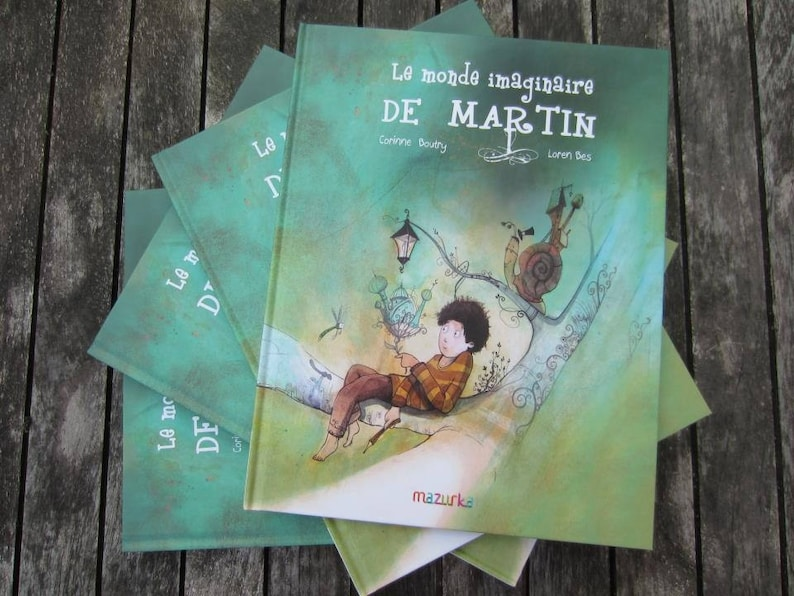 Children's book in French. Illustrated youth album. Title: image 0