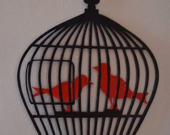 Arredamento Etsy Gabbie Di Arredamento Uccello Di 5Xtgqz