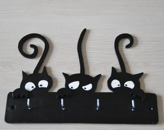 Wall keyrings/interior decoration/home accessories/cats