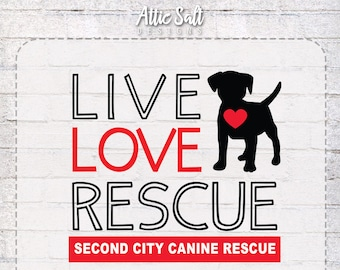 Live Love Rescue T-Shirt