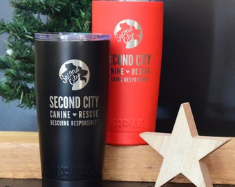 SCCR Stainless Steel Tumbler | Double Insulated | Engraved Logo