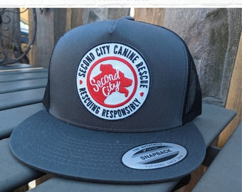Classic Trucker Hat ---> 5 Panel | SCCR Logo Embroidered Patch
