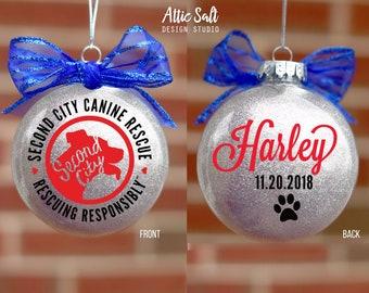 SCCR Adoption Day Keepsake Personalized Ornament