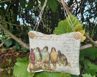 Bird door cushion