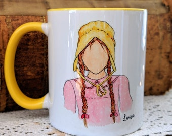 Laura Ingalls Wilder Mug (Little House) Quote Fan Gift