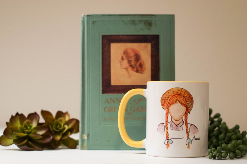 Anne of Green Gables Mug Quote Fan Gift image 0