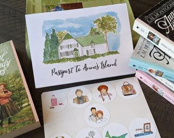 Passport To Anne's Island (Booklet + Stickers)