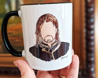 Boromir Coffee Mug (The Lord of the Rings, J. R. R. Tolkien)