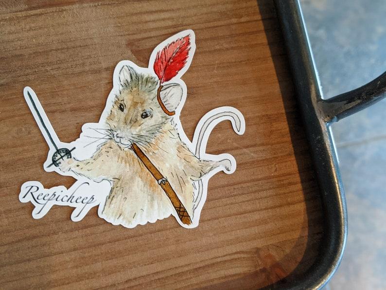 Reepicheep Narnia Sticker Waterproof image 0