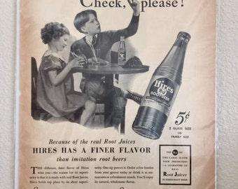 Hires Vintage Print Ad