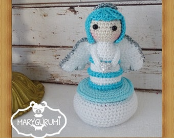 Box, plush crochet, Amigurumi (small model)