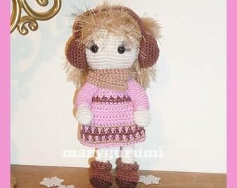 Crochet Amigurumi doll