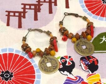 Japanese inspired earrings