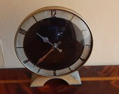 Attractive 1930s Smiths Art Deco clock - replacement quartz movement