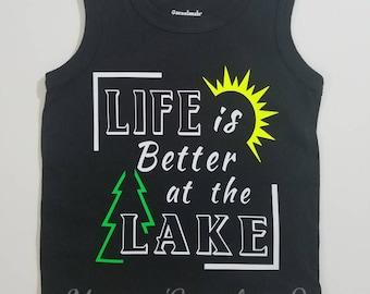 Life is Better at the Lake Top/Kids Lake Top/Lake Life