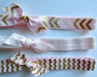 Newborn Elastic Knot Bow Headband Sets   Elastic Headbands for Baby Girls   Newborn