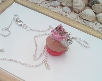 collar necklaces treats cupcake Strawberry