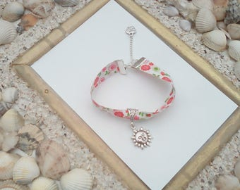liberty floral bracelet and these charms