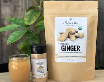 USDA Certified Organic Ginger Powder