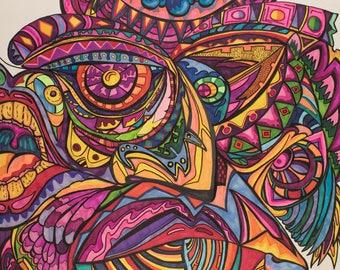 Mr. Galaxy (Original piece by Nico Durr)