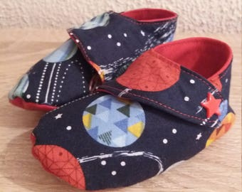 baby booties size 9 months