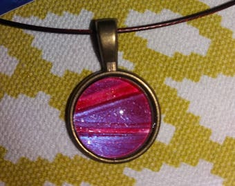 New unique rose necklace