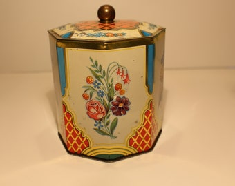Vintage Tin Made in Western Germany