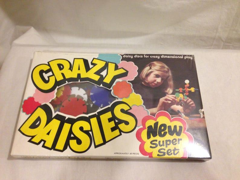 1970 Invicta CRAZY DASIES Super Set--UNOPENED!!!--Building set