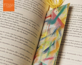 No Fear - Handpainted Bookmark