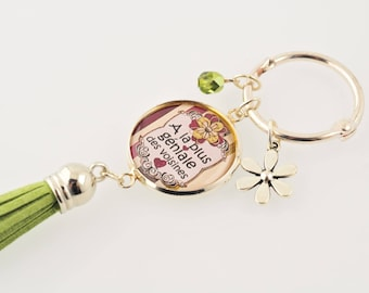 """Keyrings """"To the most awesome of neighbors"""""""