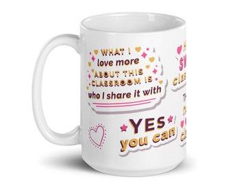 Teacher, Teacher Gift, Teacher Appreciation, Education Week, Teacher Present, Teacher Christmas, Teacher Valentine, Teacher Mug, Education