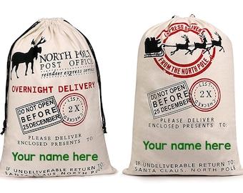 Santa Sack, Santa Bag, Christmas Bag, Large Present Bag, Special Delivery, Christmas, Santa Claus, Santa Gift, Santa, Christmas Present