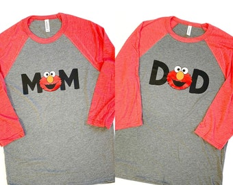 Elmo Birthday, Elmo Birthday Party, Elmo Birthday Shirt, Elmo's World, Second Birthday, Two, Elmo First Birthday, One, 1st Bday, 2nd BDay