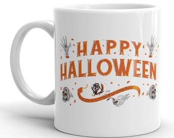 Halloween Mug, Happy Halloween, Pumpkin Spice Latte, Fall Mug, Halloween Coffee Mug, Halloween, Spooky Mug, Halloween Gift, Halloween Favor