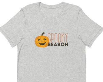 Spooky Season, Spooky Shirt, Halloween Shirt, Fall Shirt, Womens Fall Shirt, Cute Fall Shirt, Funny Halloween Shirt, Womens Halloween Shirt