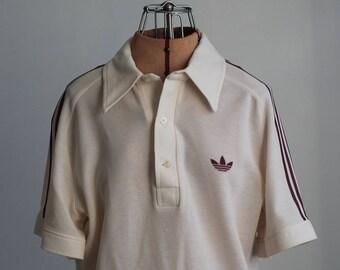 Vintage 70s Adidas Tennis Shirt