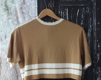 Vintage 60s Scalloped Sweater