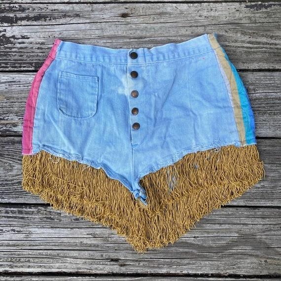 Vintage 70's Disco Shorts