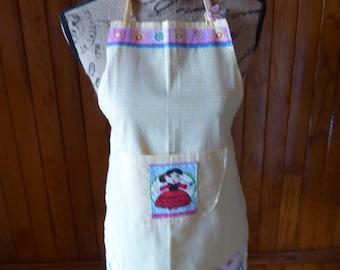 Girl apron