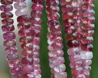Perles de Pierre Jade Boules 10mm Rose Fuchsia Framboise Fil 39cm 37pc env
