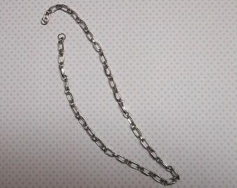 Fall 40.5 cm silver chain 2 links