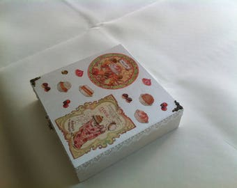 Large 16 box hand decorated boxes