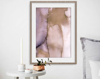 Pink Purple Print, Watercolor Art, Printable Art, Abstract Art, Home Decor, Modern Art, Wall Art, Watercolour Print, Digital Art